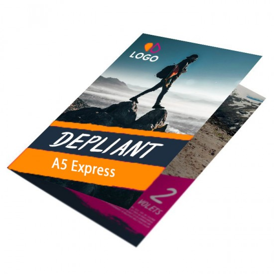 Dépliant 2 volets A5 Express