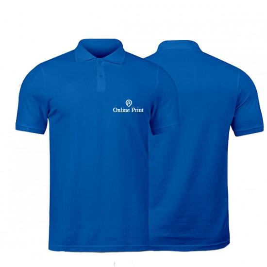 Polo Bleu Roi Manches Courtes