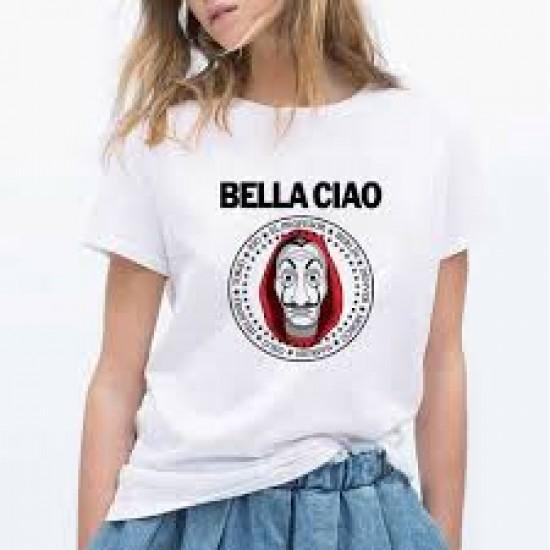 T-shirt bella ciao femme - maroc