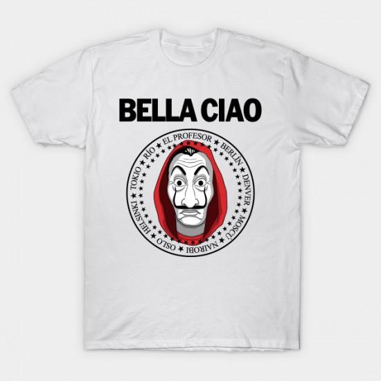 T-shirt bella ciao homme - maroc